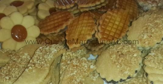 cuisine marocaine gateaux ghrayba kaab ghzal chabbakia