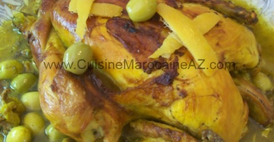 cuisine marocaine volaille poulet dinde caille