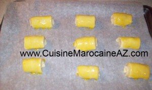 cuisine marocaine Petit pain au chocolat