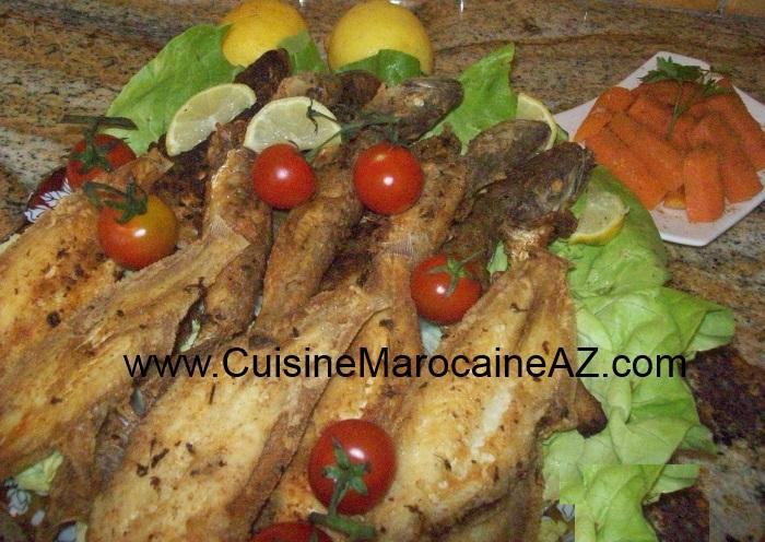 Friture de poissons la cuisine marocaine de a z - Enlever odeur de friture ...
