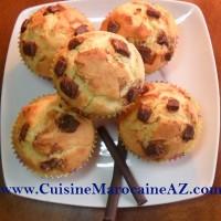 cuisine marocaine muffins aux brisures de chocolat