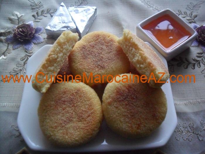 Harcha, recette galette de semoule marocaine