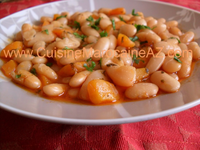 Chaise Cuisine Noyer : cuisine marocaine haricot blanc