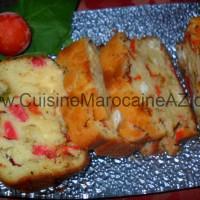 cake salé cuisine marocaine